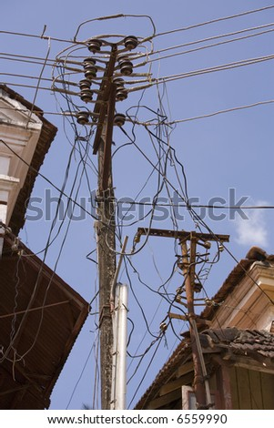 Power Problems - stock photo
