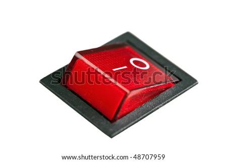 power switch - stock photo