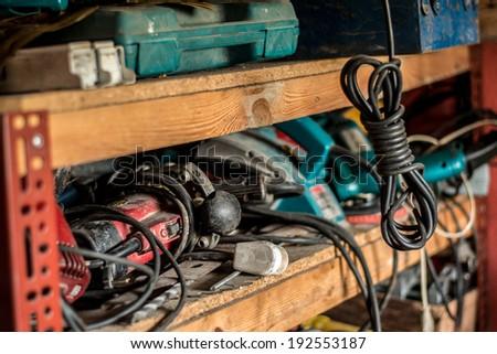 Power Tools - stock photo