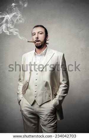 Powerful man  - stock photo