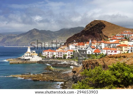 Prainha resort in Madeira, Portugal, Europe - stock photo
