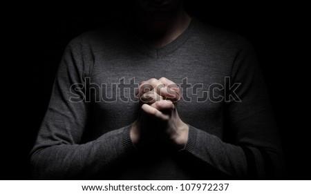 Prayer - stock photo