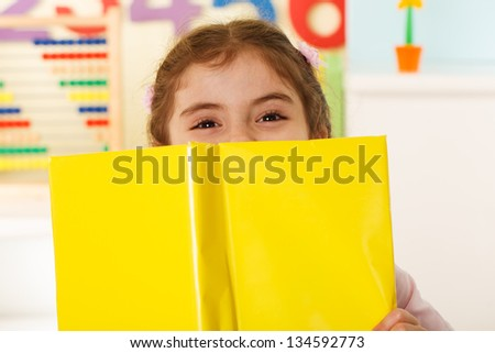 pre-school education - stock photo
