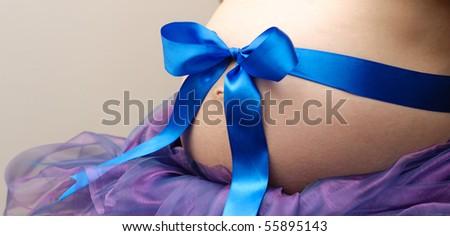 Pregnant - stock photo