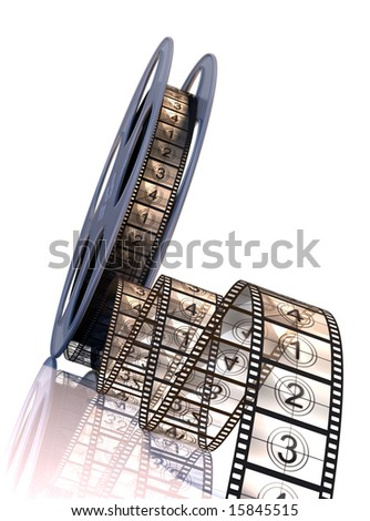 Premiere countdown! - stock photo