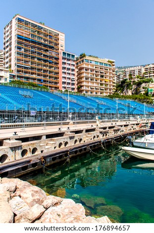 Preparation to Formula 1 Monaco Grand Prix - stock photo