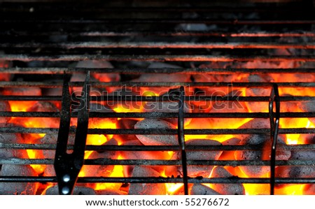 Preparing for grilling - stock photo