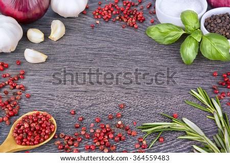 Preparing the ingredients. - stock photo