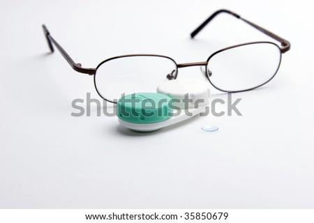 Prescription Eye Wear - stock photo