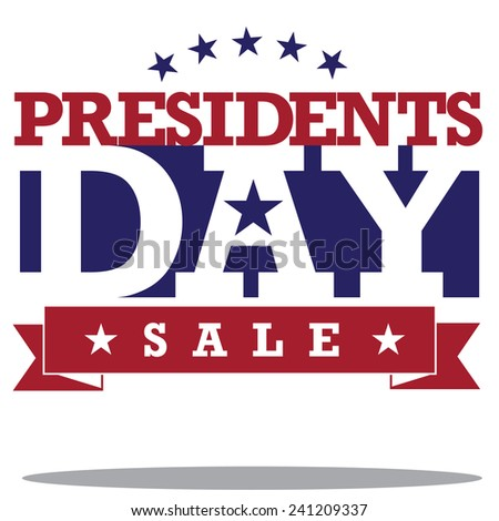 Presidents Day Icon stock illustration - stock photo