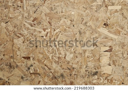 Pressed Wooden Panel (OSB).  - stock photo