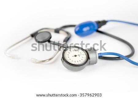 pressure check up - stock photo