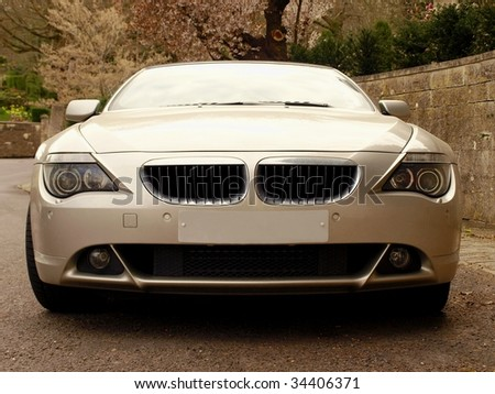 Prestige Car - stock photo