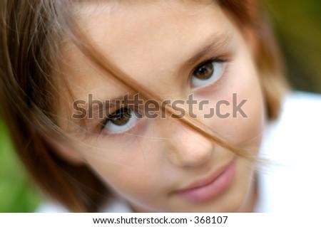 Pretty kids - stock photo