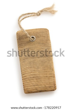 price tag label isolated on white background - stock photo
