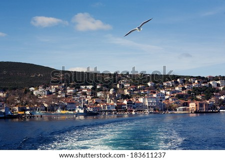 Prince islands Istanbul - stock photo