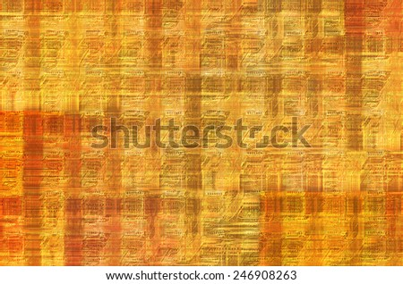 printed circuit - motherboard - abstract technology background - stock photo