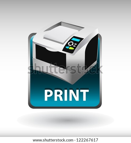 Printer Icon Stock Photos, Images, & Pictures   Shutterstock