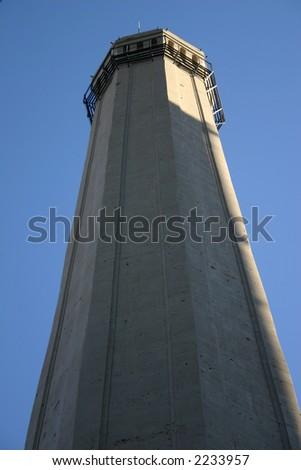 Prison Watchtower - stock photo