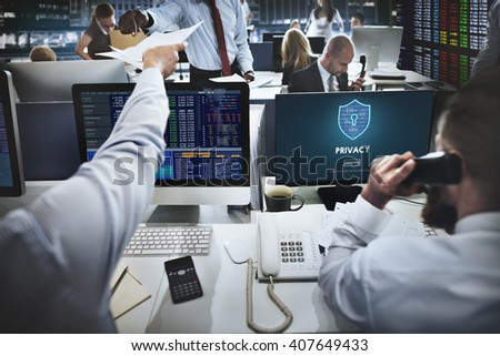 Privacy Private Secret Security Protection Concept - stock photo