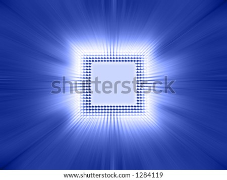 Processor of high technology. - stock photo