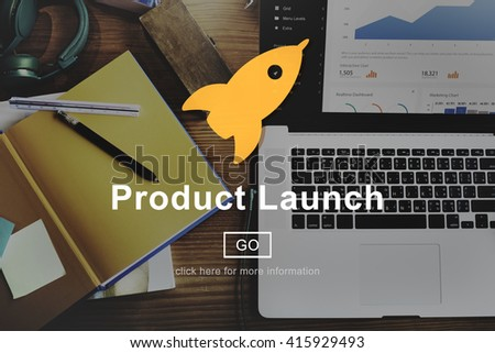 Product Launch New business Innovation Concept - stock photo