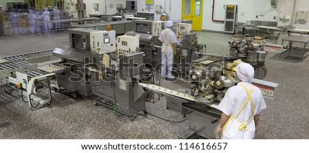Production line, - stock photo