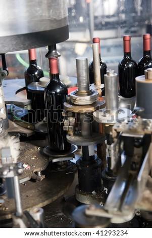production line - stock photo