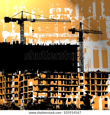 profession of builder - stock photo