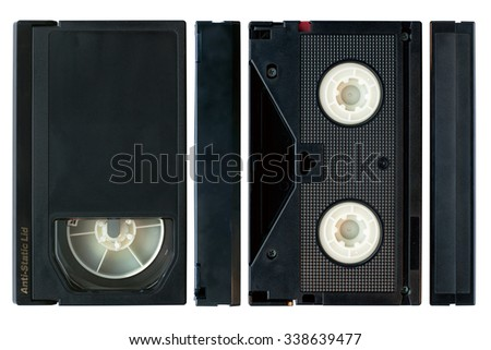 Professional betacam video cassette.  - stock photo