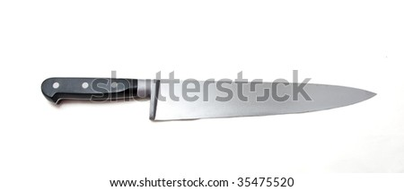 Professional kitchen tool on a white background. - stock photo