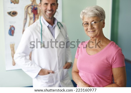 Professional medical personnel can help patients  - stock photo