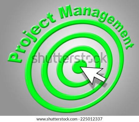 Project Management Representing Directorate Manager And Boss - stock photo