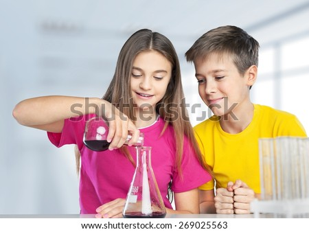Project, testing, pouring. - stock photo