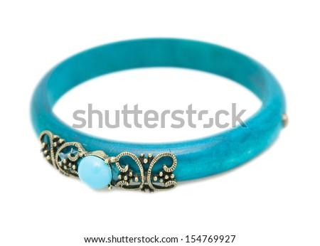 Prostate cancer bracelets - stock photo