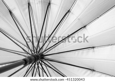 Protection umbrella, - stock photo