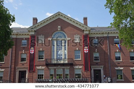PROVIDENCE, RI -May 29, 2016: Graduation weekend at Brown University in Providence, Rhode Island on May 29, 2016, an ivy league school. - stock photo