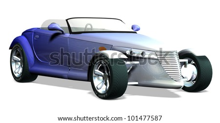 Prowler three quarter view - stock photo