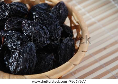 Prunes - stock photo