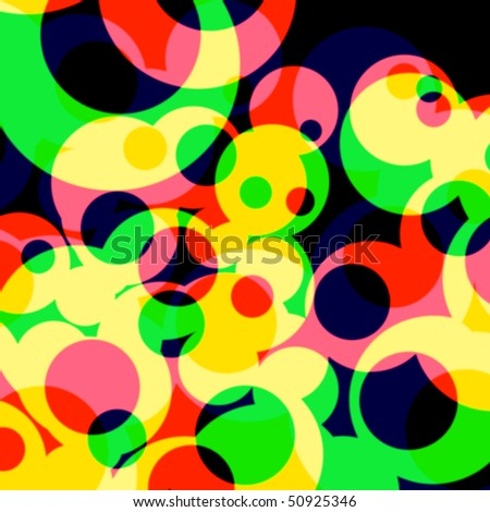 psychedelic pattern - stock photo