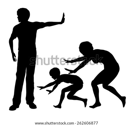 Psychological Abuse. Concept sign of humiliation and mental cruelty within the family as part of domestic violence - stock photo