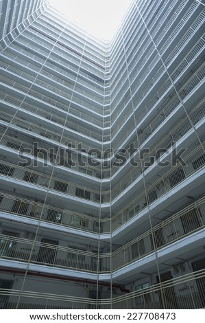 Public Estate of Hong Kong - stock photo