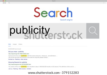 Publicity Relation Advertising Attention Promotion Concept - stock photo