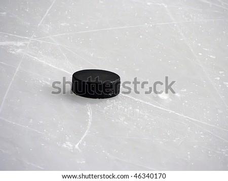 puck - stock photo