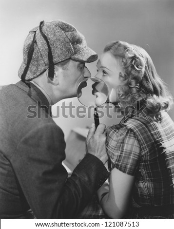 Pucker up - stock photo