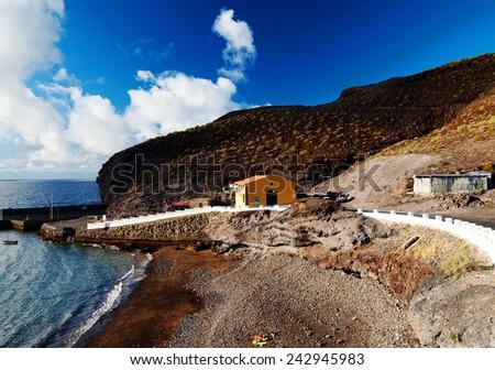 Puerto de San Nicolas, Gran Canaria, Spain - stock photo