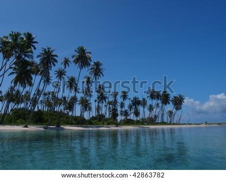 Pulau Banyak, an island in Aceh, Indonesia - stock photo