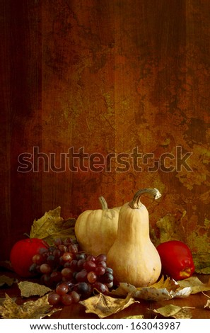 Pumpkin in the basement                                - stock photo