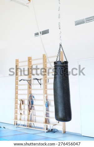Punching bag for boxing - stock photo
