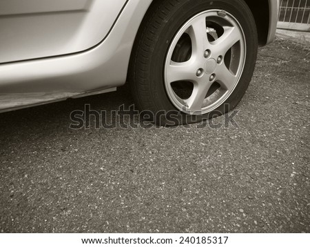 Puncture - stock photo
